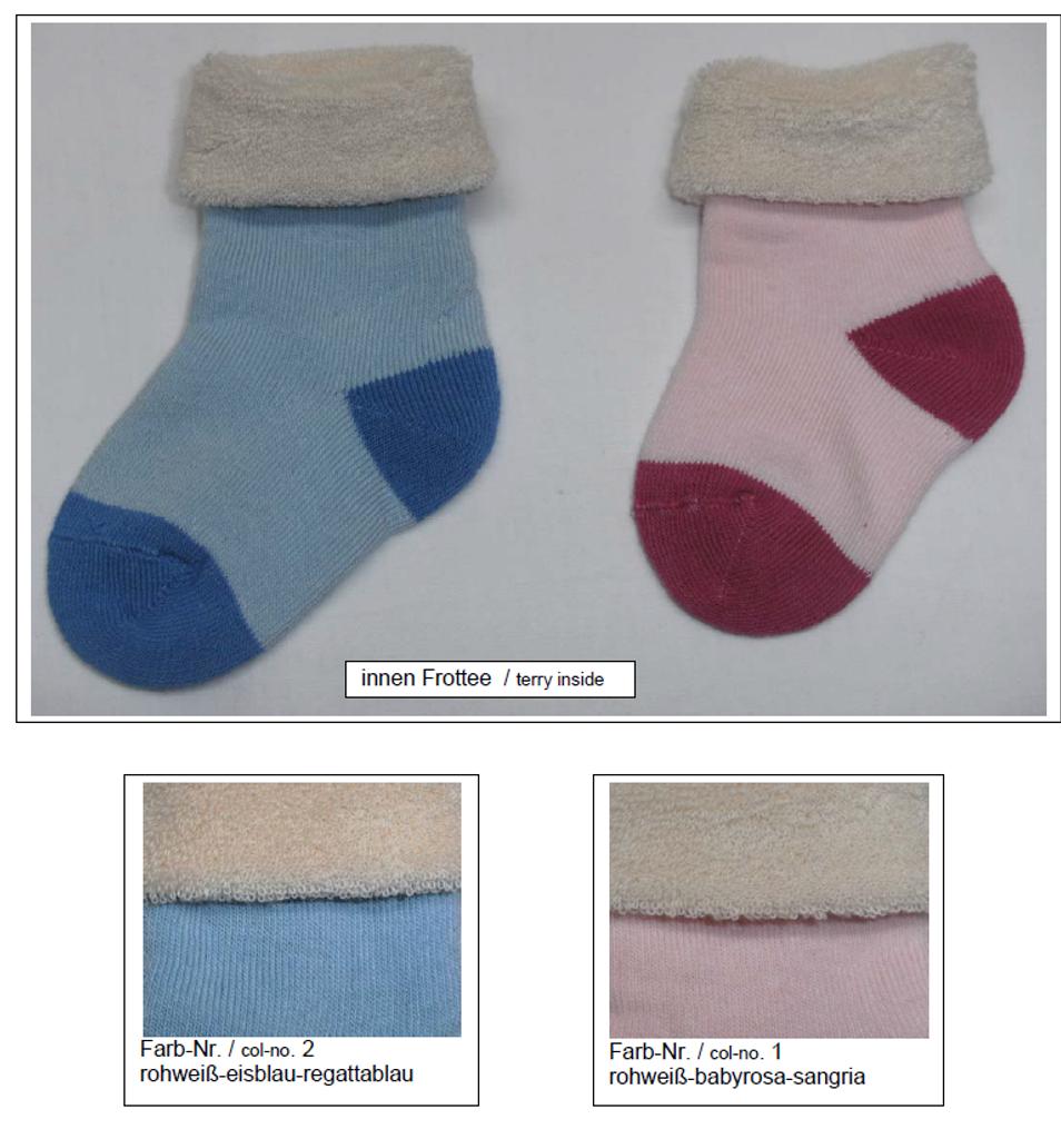 Organic Cotton Baby Socks   Grodo 12755