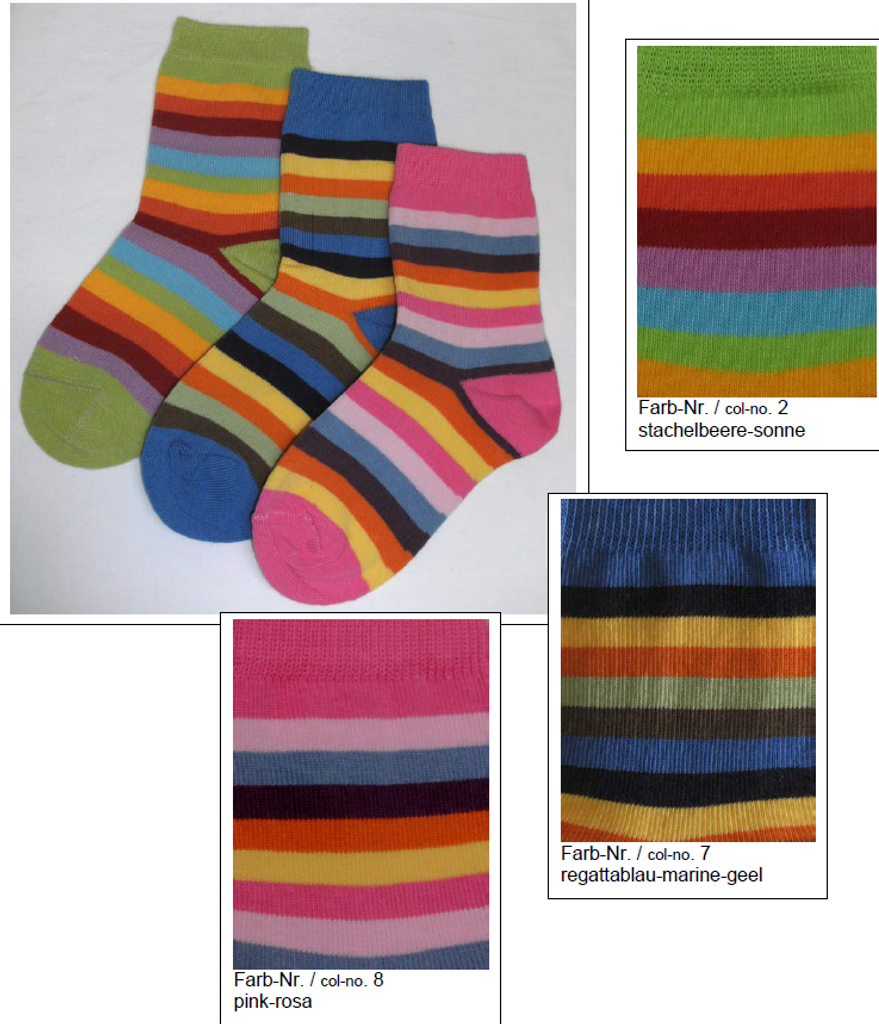 Organic Cotton Kids' Socks | Grodo 12585