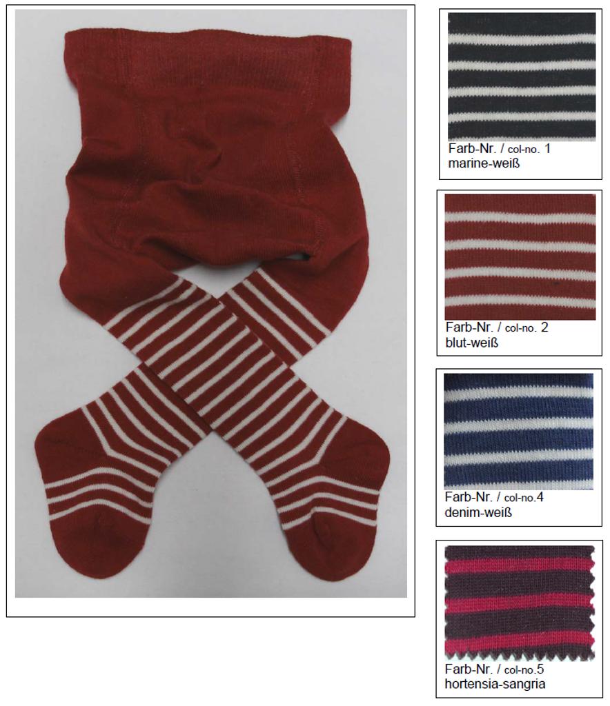 Organic Cotton Baby Tights   Grodo 72457