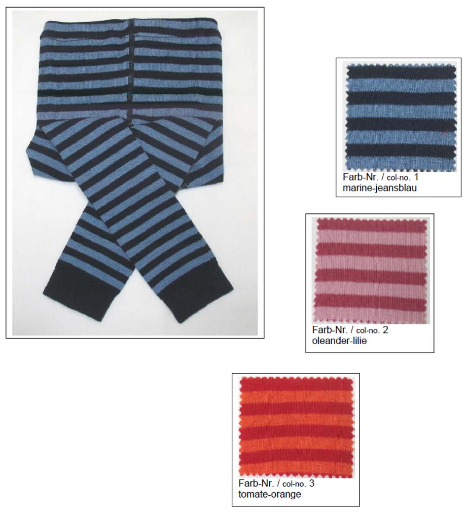 Organic Cotton Baby Tights | Grodo 72422