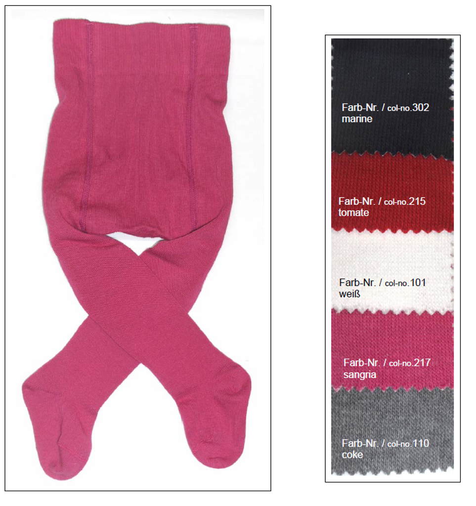 Organic Cotton Tights for Babies   Grodo 72576