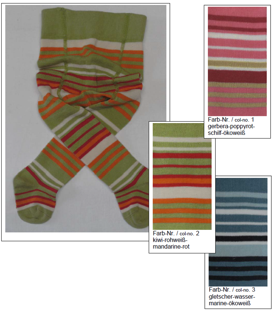 Organic Cotton Tights for Babies   Grodo 72641