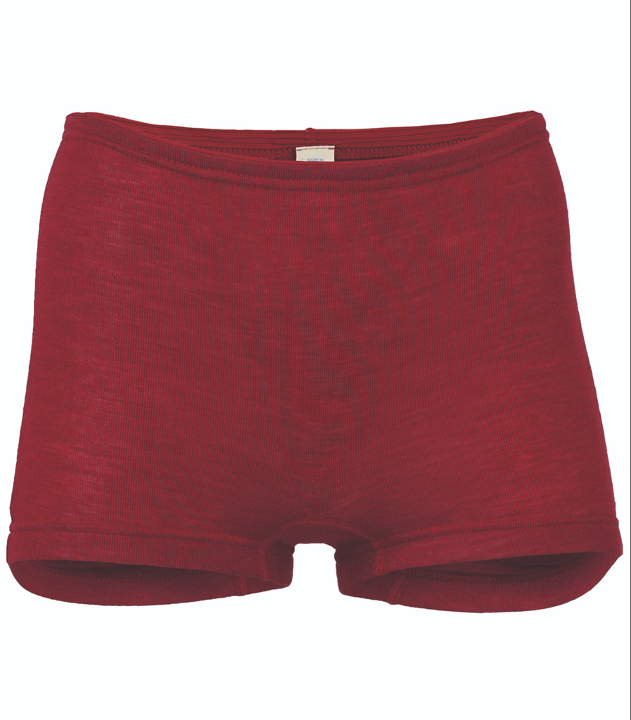 Wool / Silk Women's shorts Color: 66E mauve