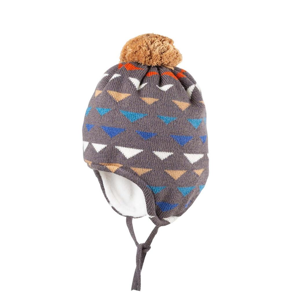 Organic Wool Cotton Silk Hat Color:  96 slate grey