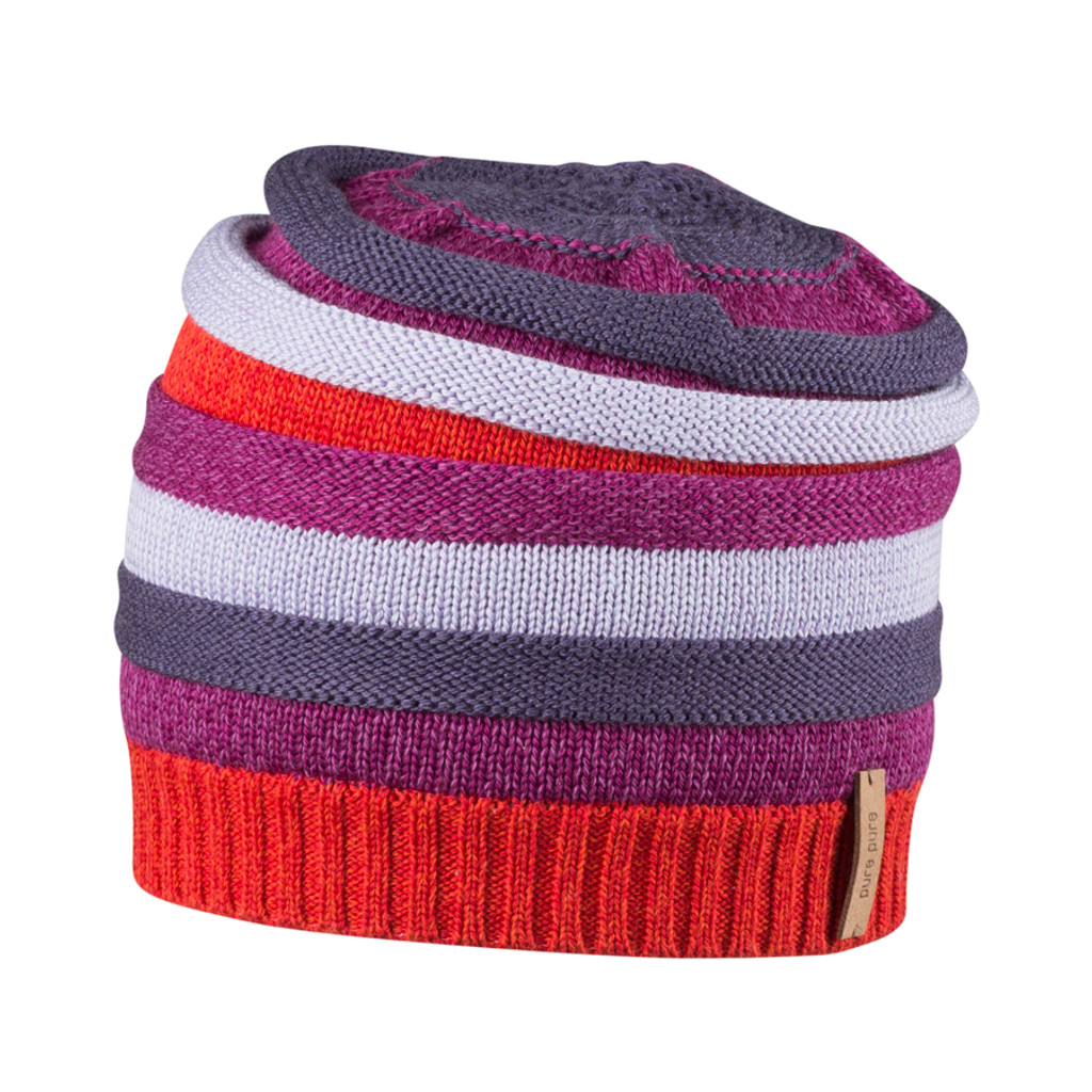 Kids Organic Wool Cotton Silk Hat Color: 15 red