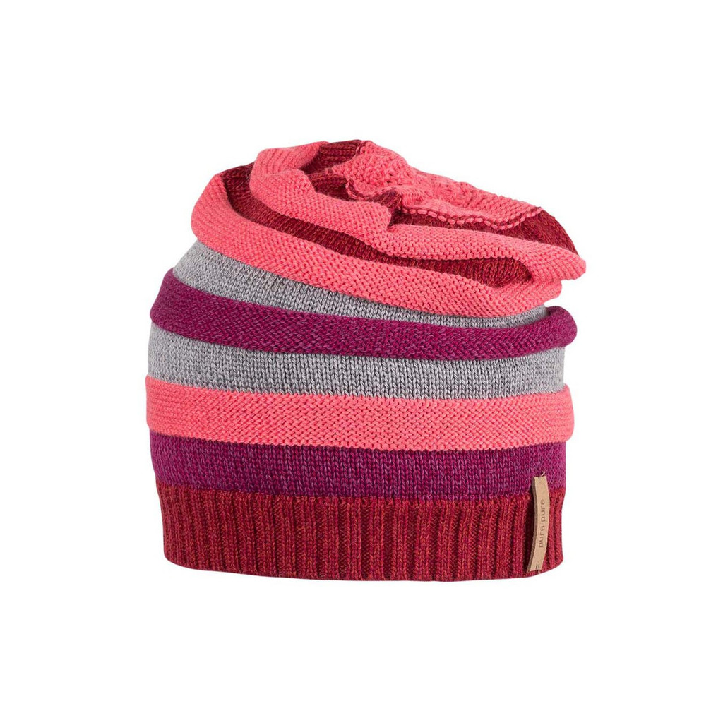 Kids Organic Wool Cotton Silk Hat Color: koralle