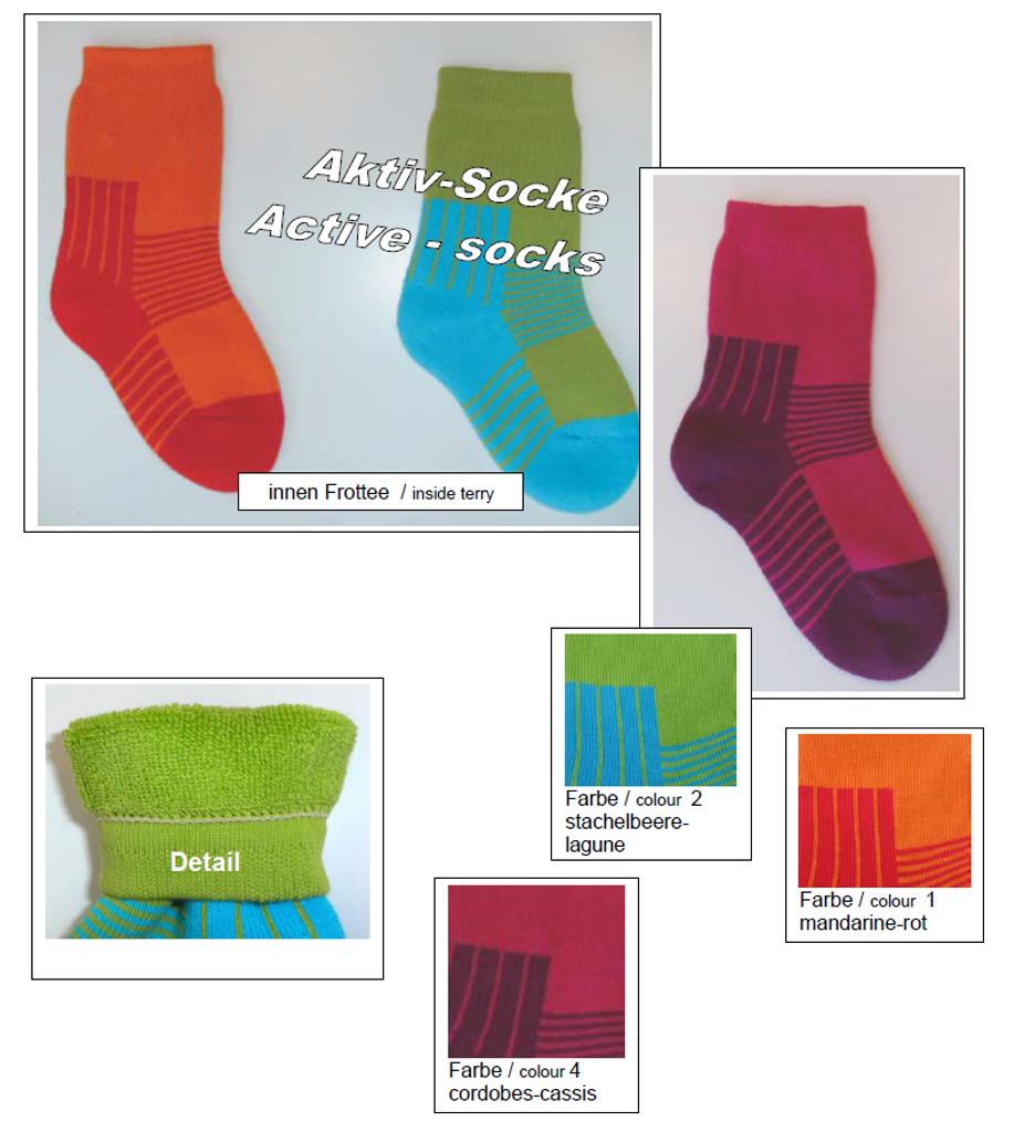 Organic Cotton Kids' Socks | Grodo 12601