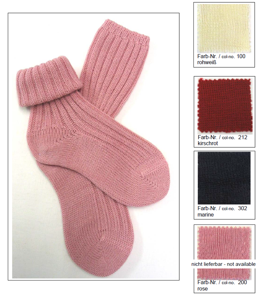 Organic Wool Kids' Socks | Grodo 14063