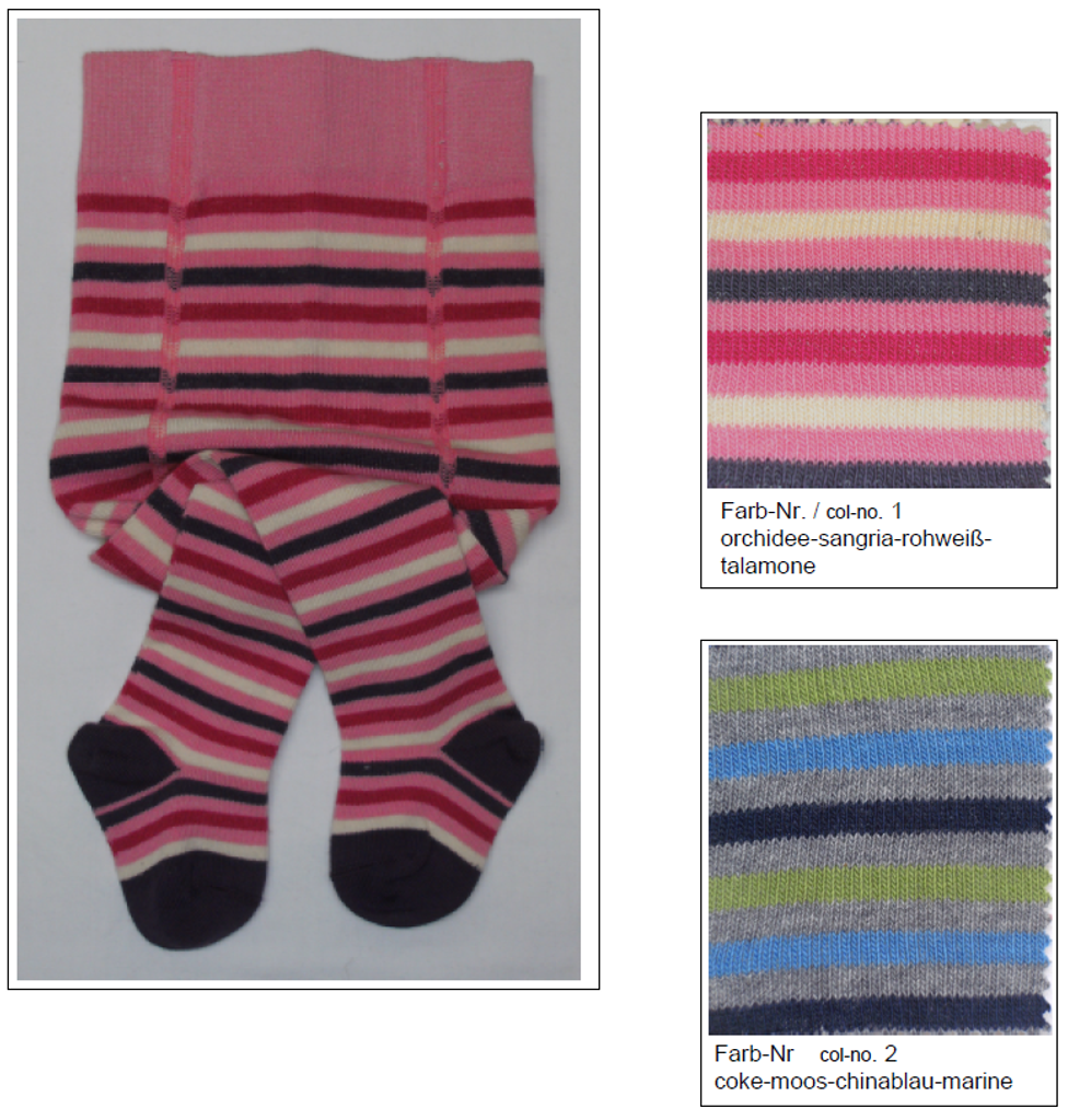Organic Cotton Tights for Babies | Grodo 72728