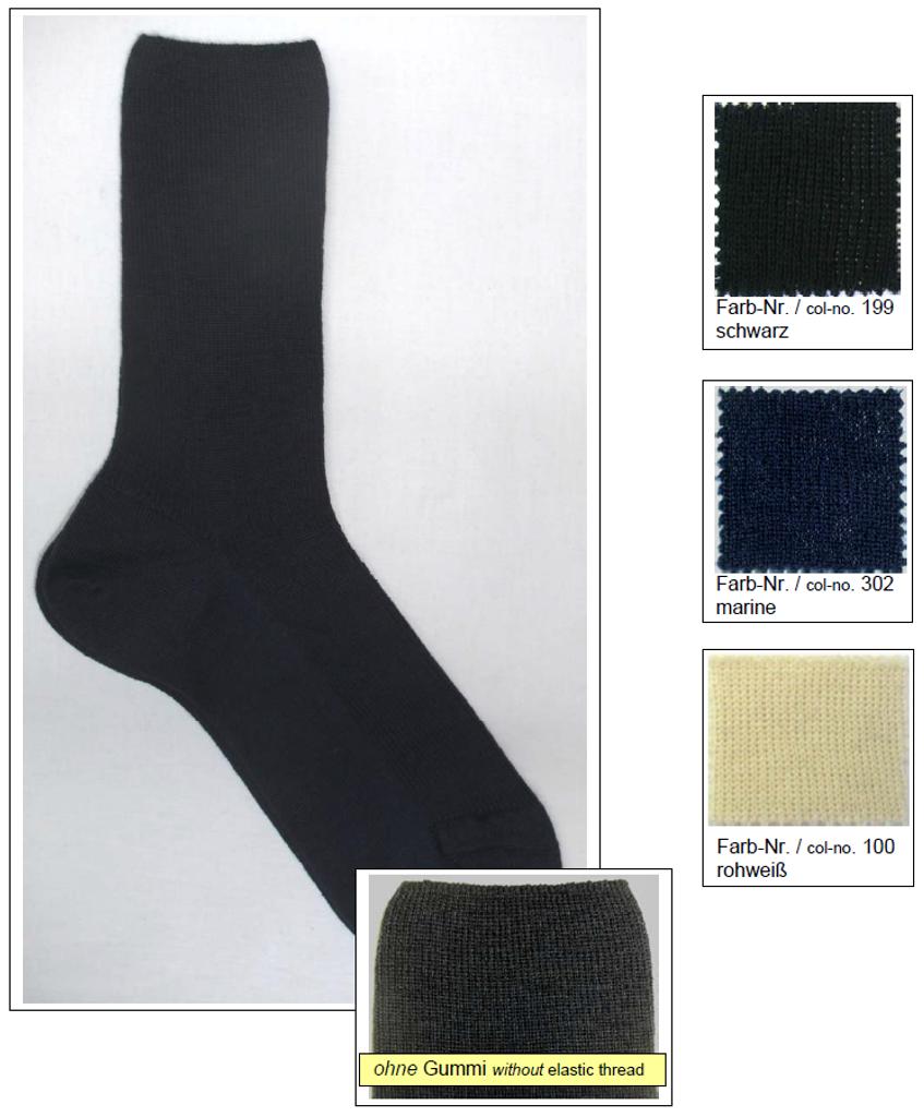 Organic Wool Unisex Socks | Grodo 54154