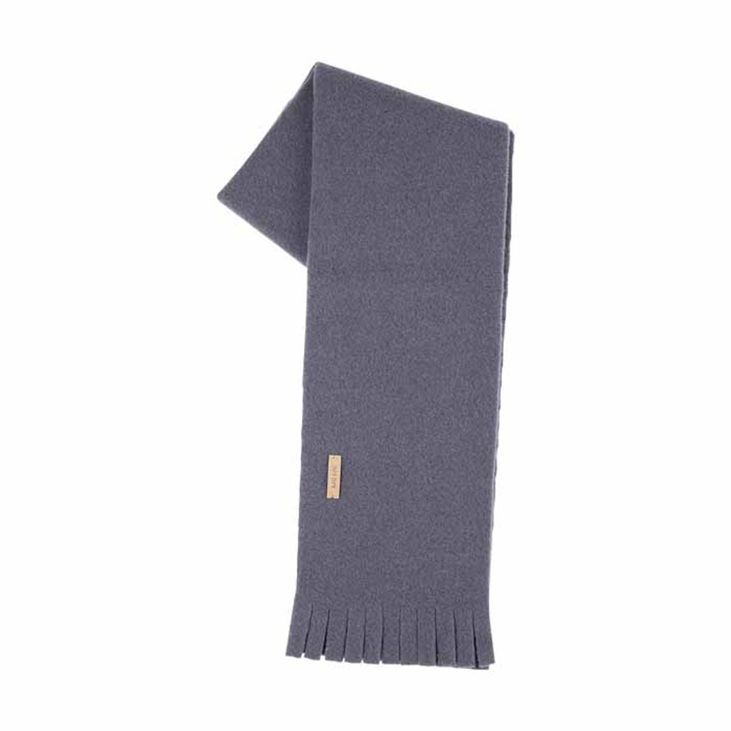 Babies Kids Organic Wool scarf Color: 301 dark ink
