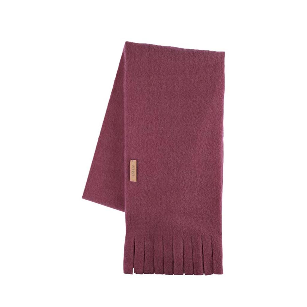Babies Kids Organic Wool scarf Color: 18 wine red