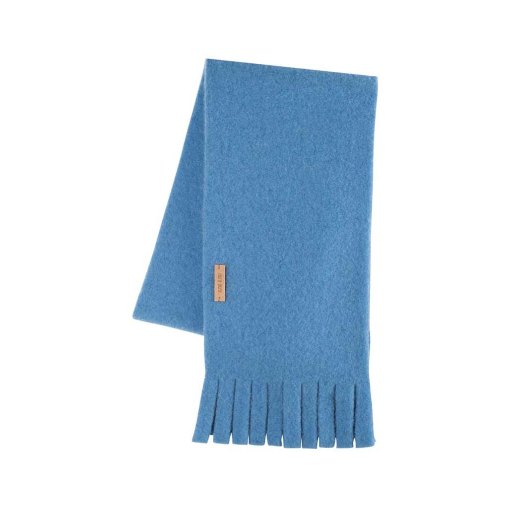 Babies Kids Organic Wool scarf Color: 392 ash blue
