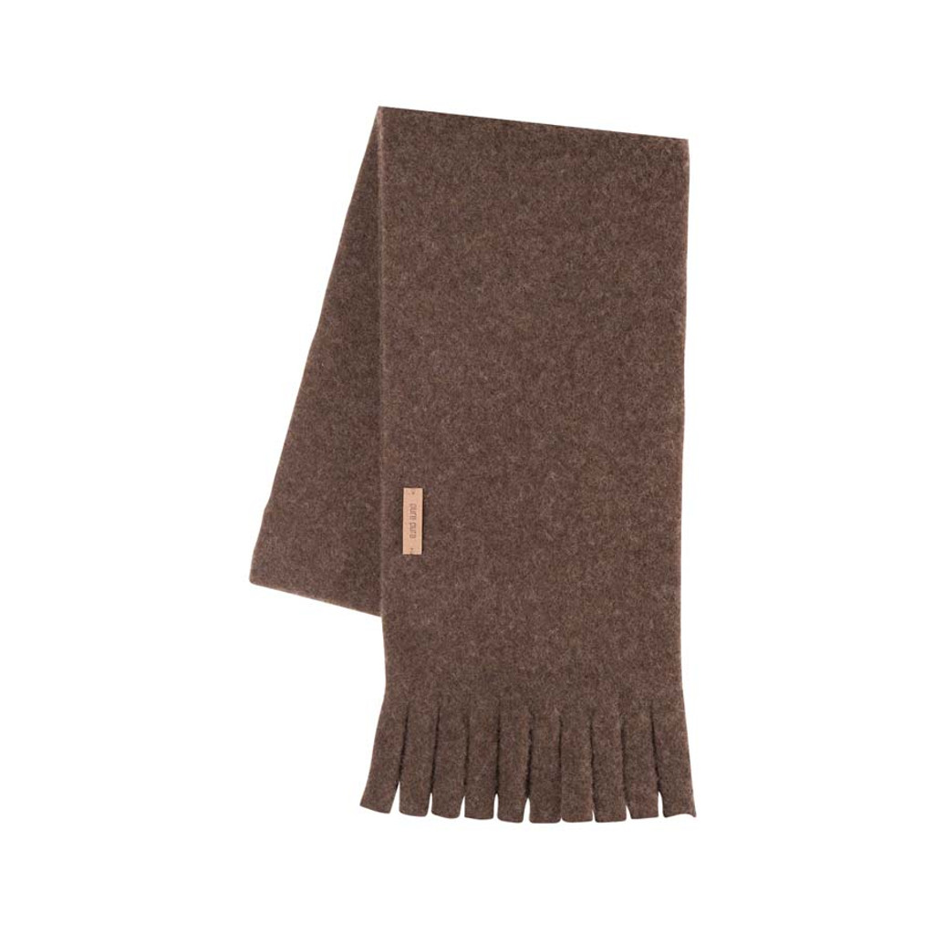 Babies Kids Organic Wool scarf Color: 902 coffee