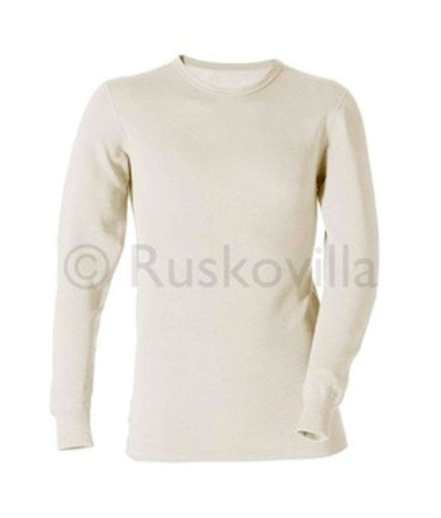 Ruskovilla Organic Merino Wool Silk Adult Underwear Shirt