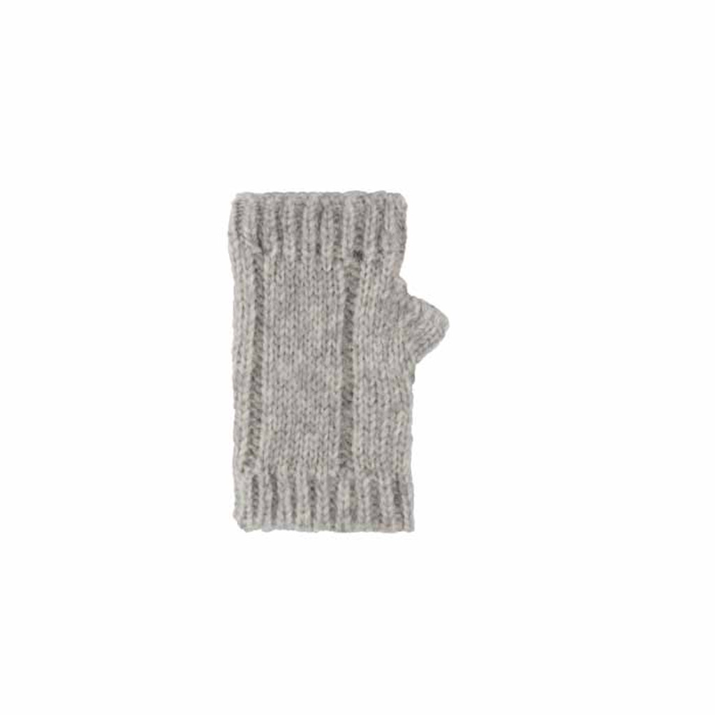Women's Hand Warmer. Color: Silbergrau