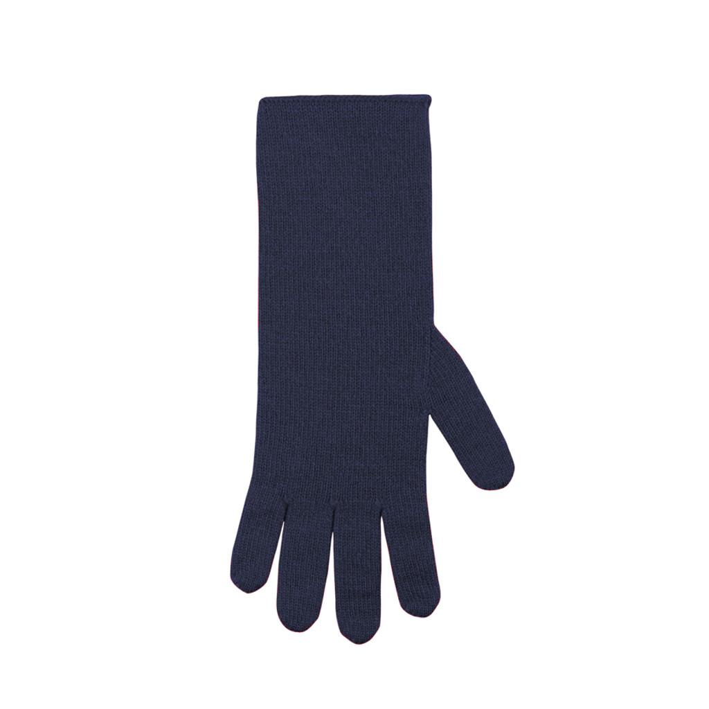 Women Organic Wool Cashmere Gloves Color: 301 dark ink