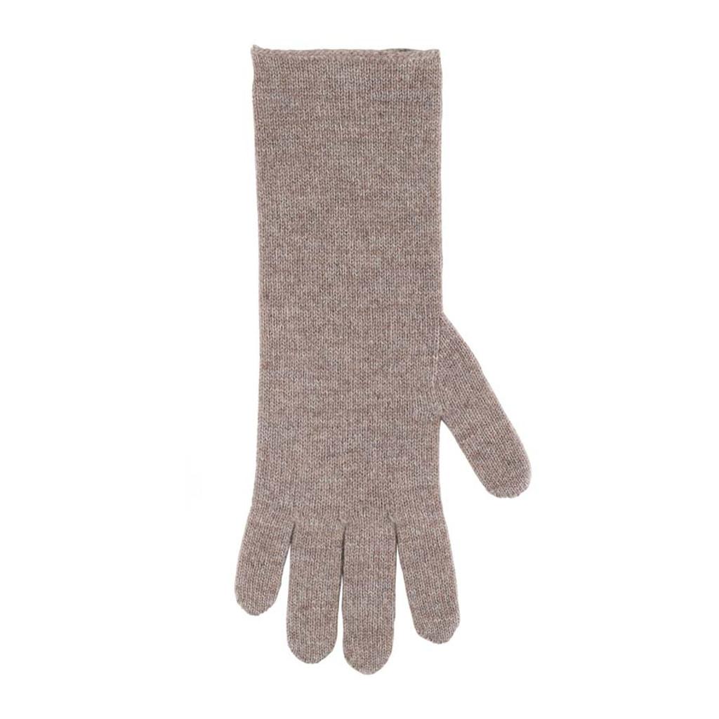 Women Organic Wool Cashmere Gloves Color: 85 kaschmir