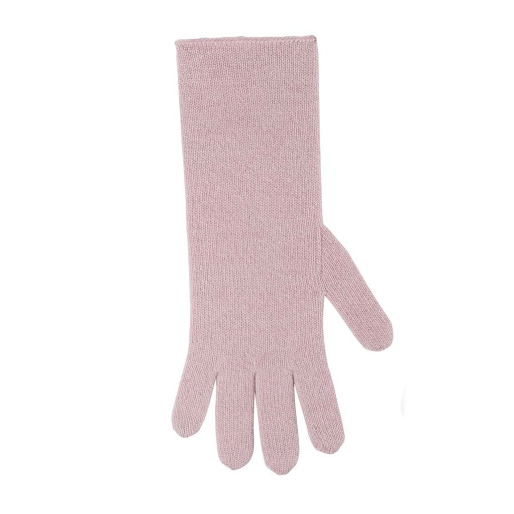 Women Organic Wool Cashmere Gloves Color:  112 cashmere rose