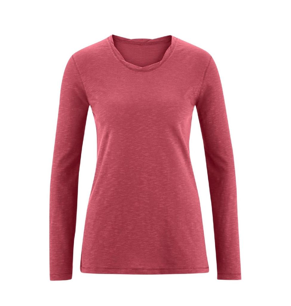Women's Organic Cotton Long Sleeved Shirt Color: