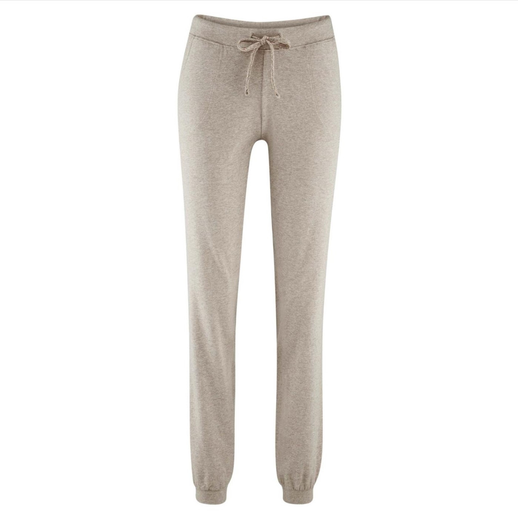 Women's Relax Trousers Color: 91 taupe melange