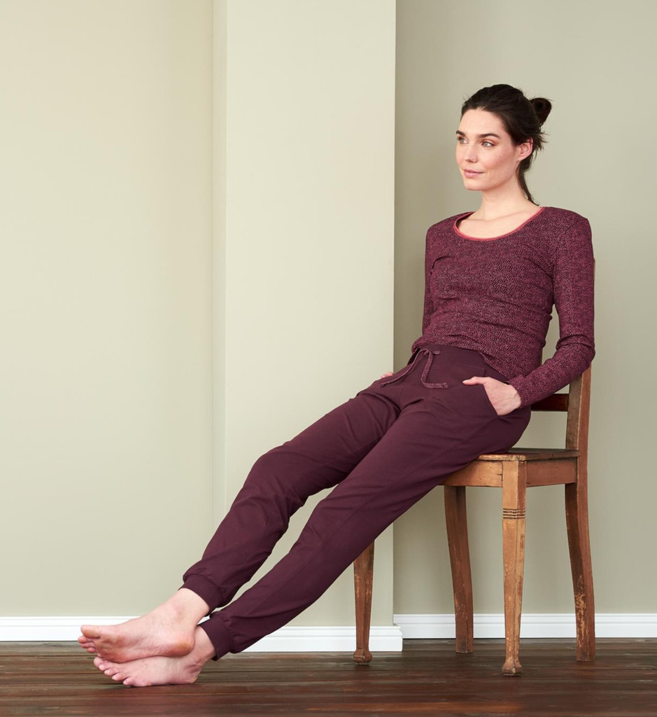 Women's Relax Trousers Color: 569 barolo
