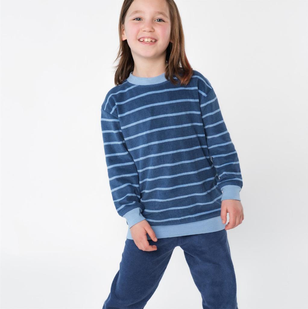Organic Cotton Terry Shirt and Pants Set