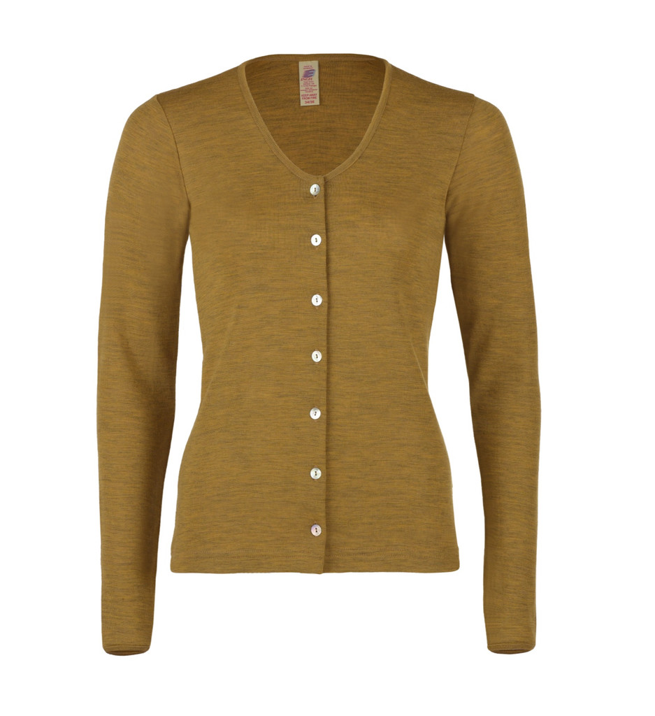 Organic Wool Women's Cardigan