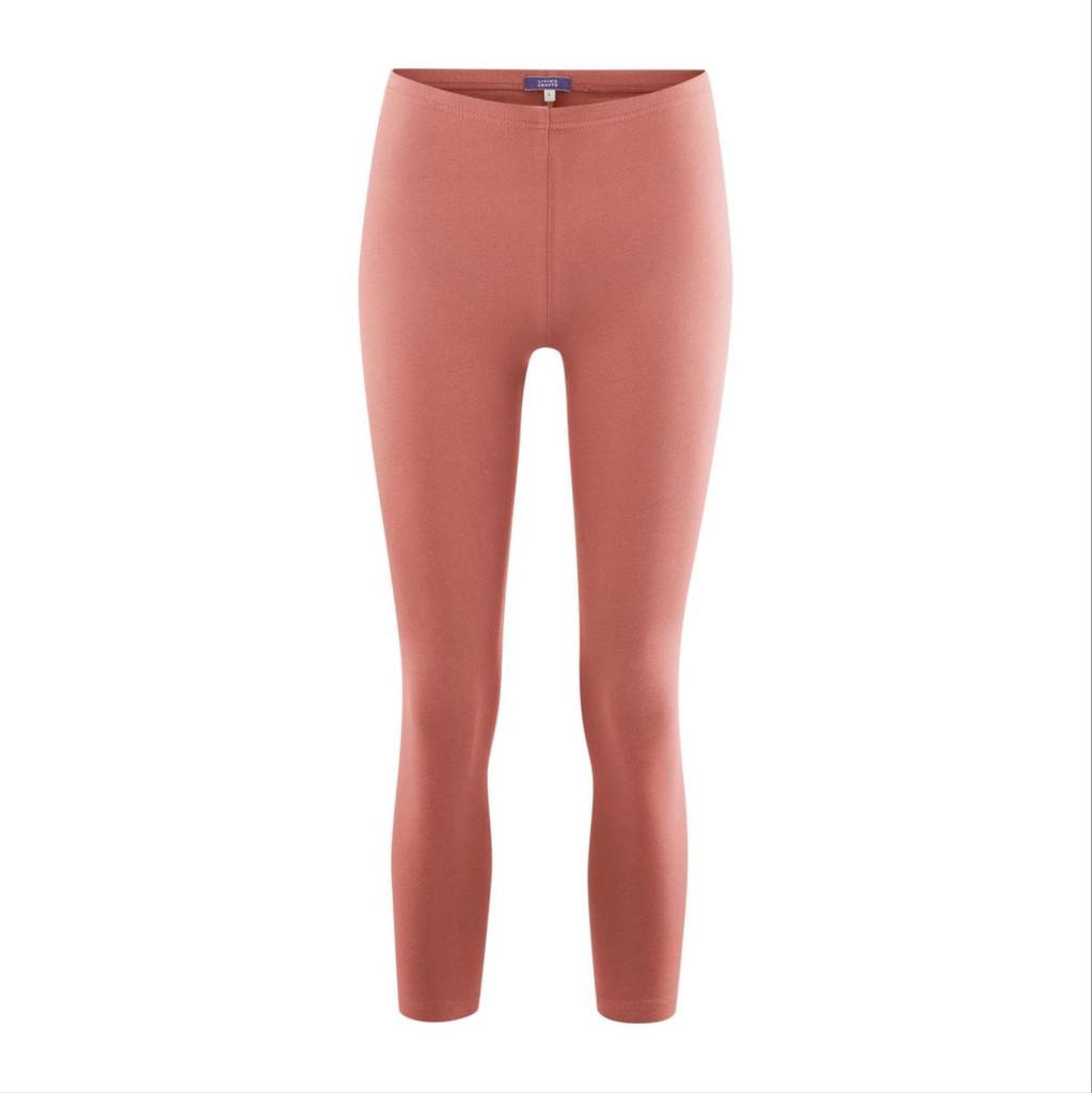 Women's  Organic Cotton 7/8 Leggings Color: 800 blush