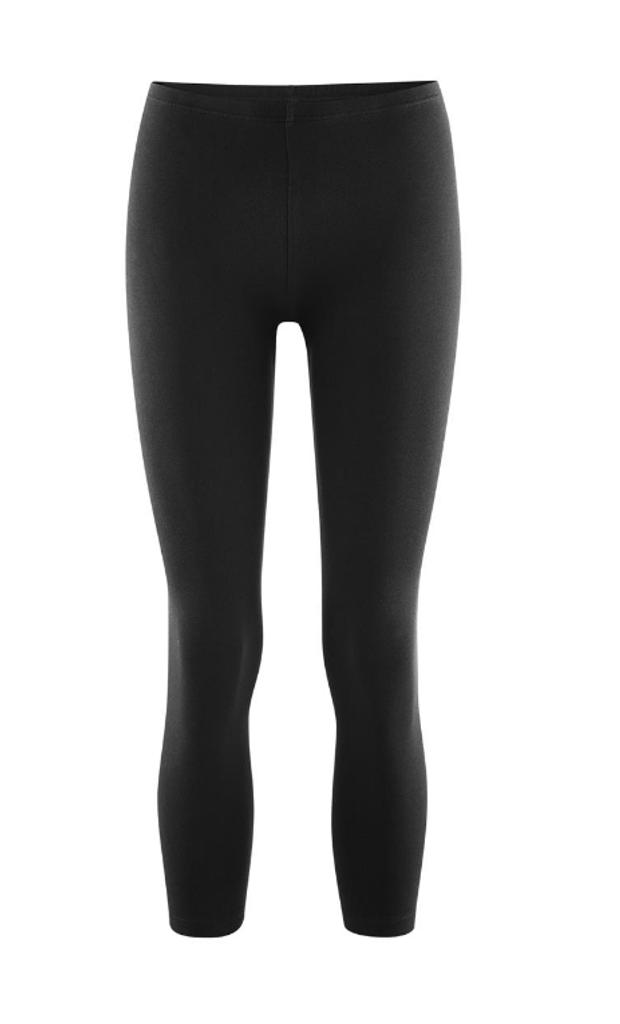 Women's  Organic Cotton 7/8 Leggings Color: 52 black