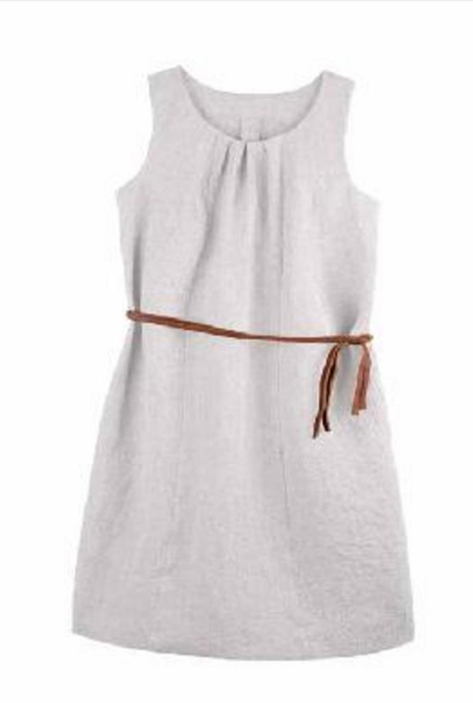 Organic Linen Women Summer Dress | PurePure 9402511