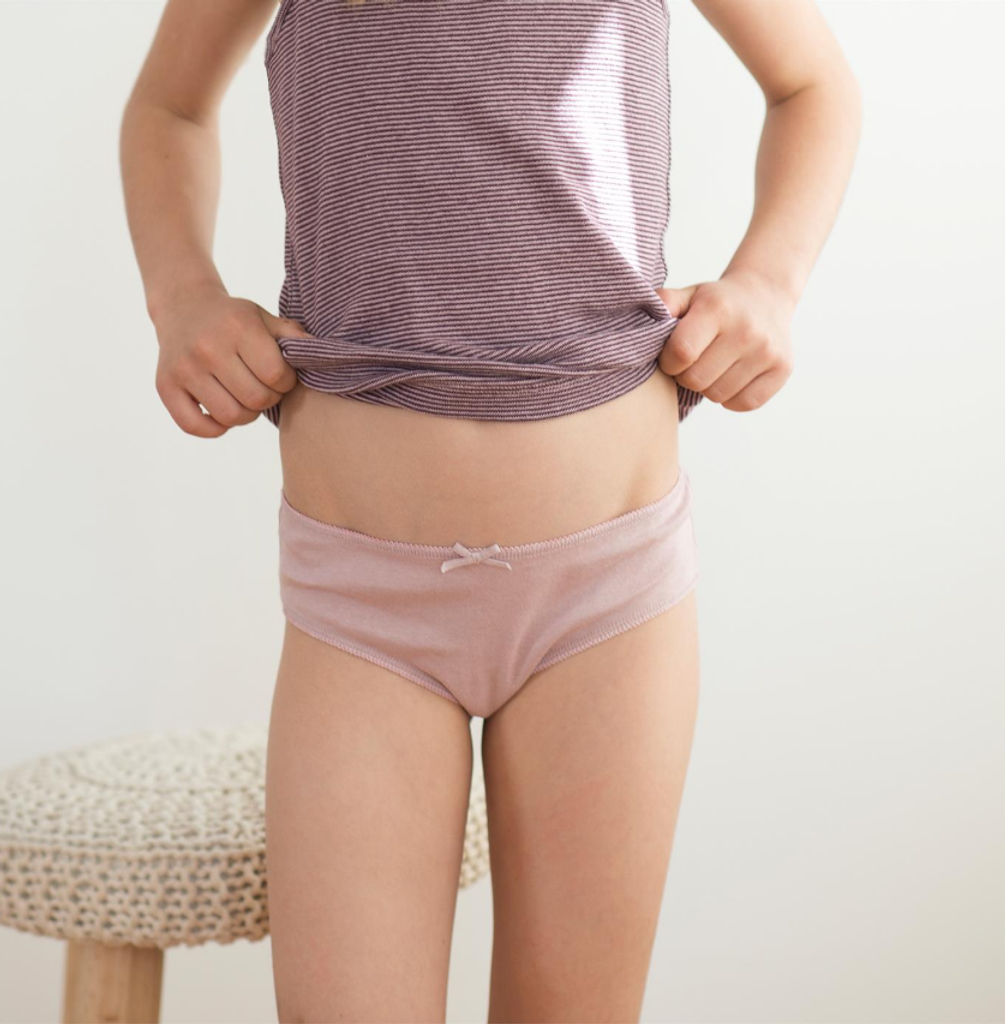 Organic Cotton Girls Briefs |  pack of 3