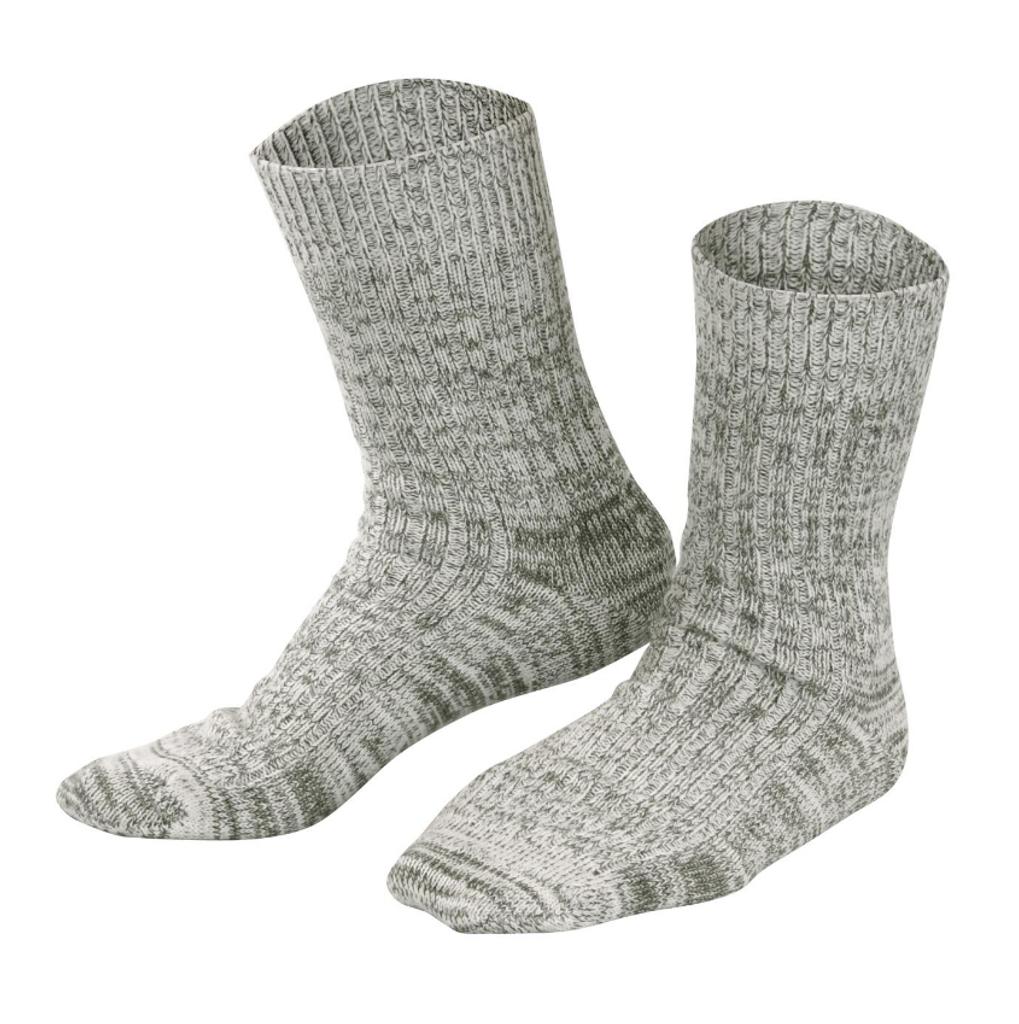 Organic Wool Cotton Socks | Living Crafts 382