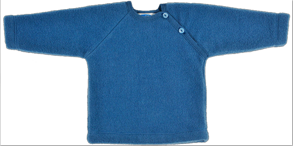 Organic Merino Wool Fleece Sweater