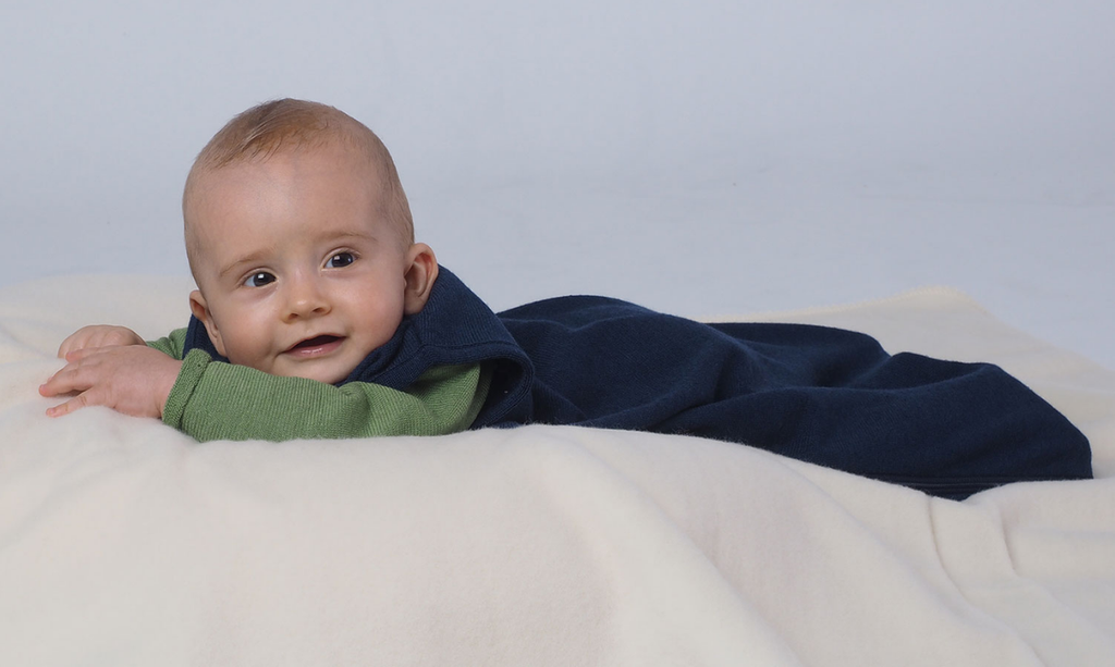 Organic Merino Wool Silk Sleep Sack