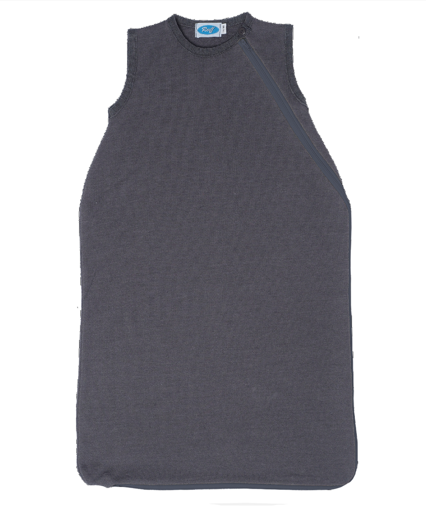 Organic Merino Wool Silk Sleep Sack Color: Slate Grey