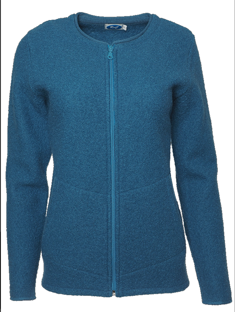 Organic Wool Fleece Jacket for Women