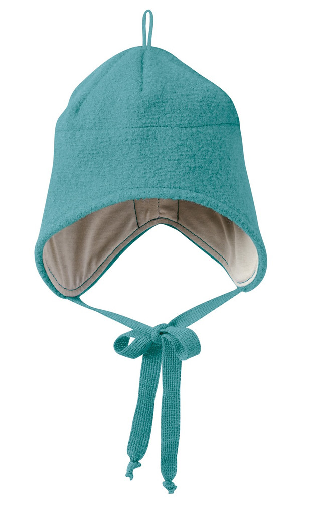 Boiled Wool Hat Color: Lagoon