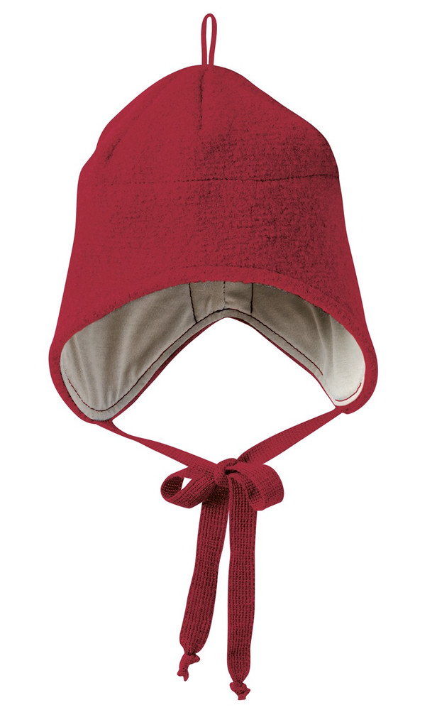Boiled Wool Hat Color: Bordeaux