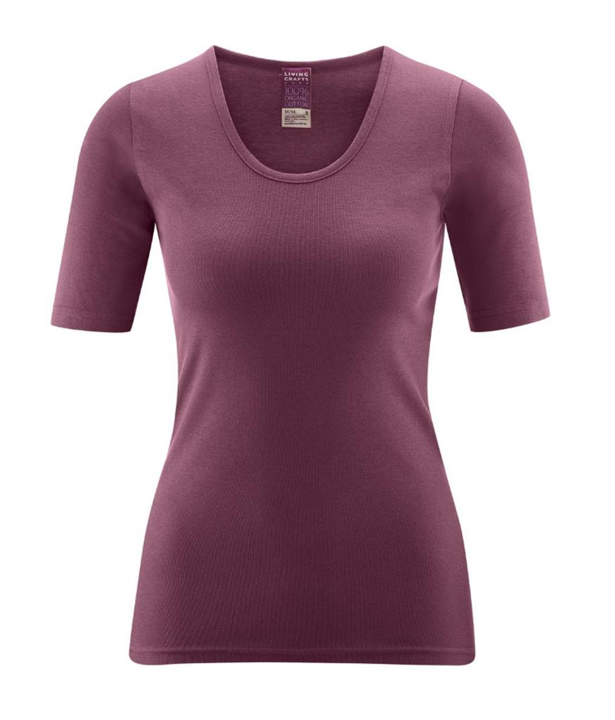 Women's Organic Cotton Short Sleeved Shirt
