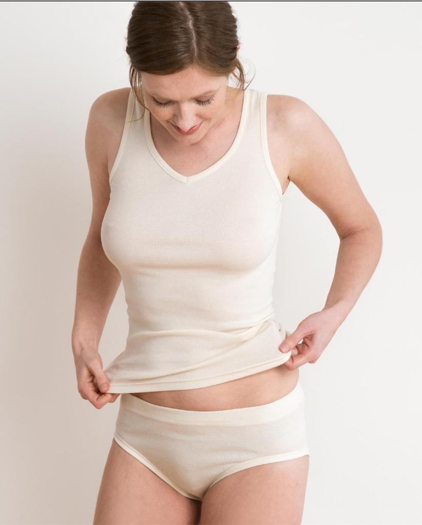 Women's Organic Cotton Waist Briefs | Living Crafts