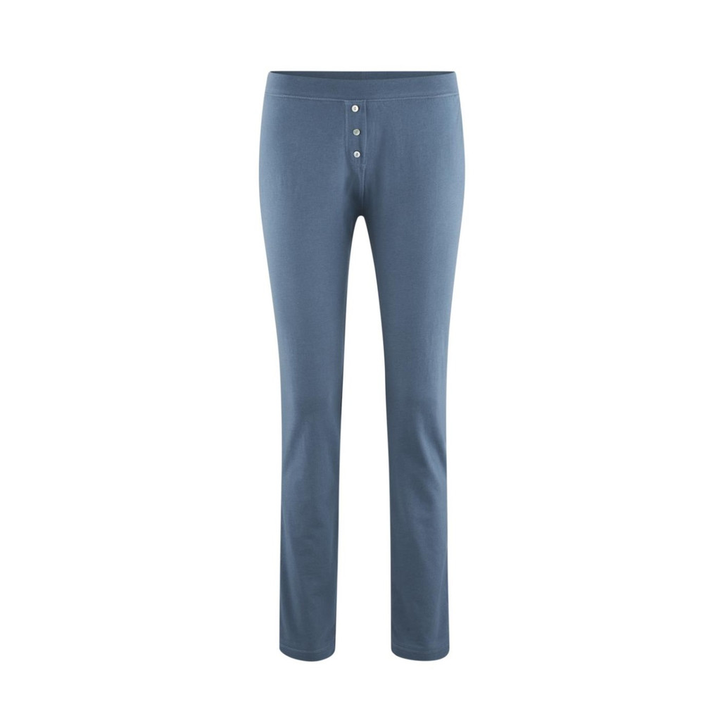 Organic Cotton Sleep Trousers Color: 340 twilight blue