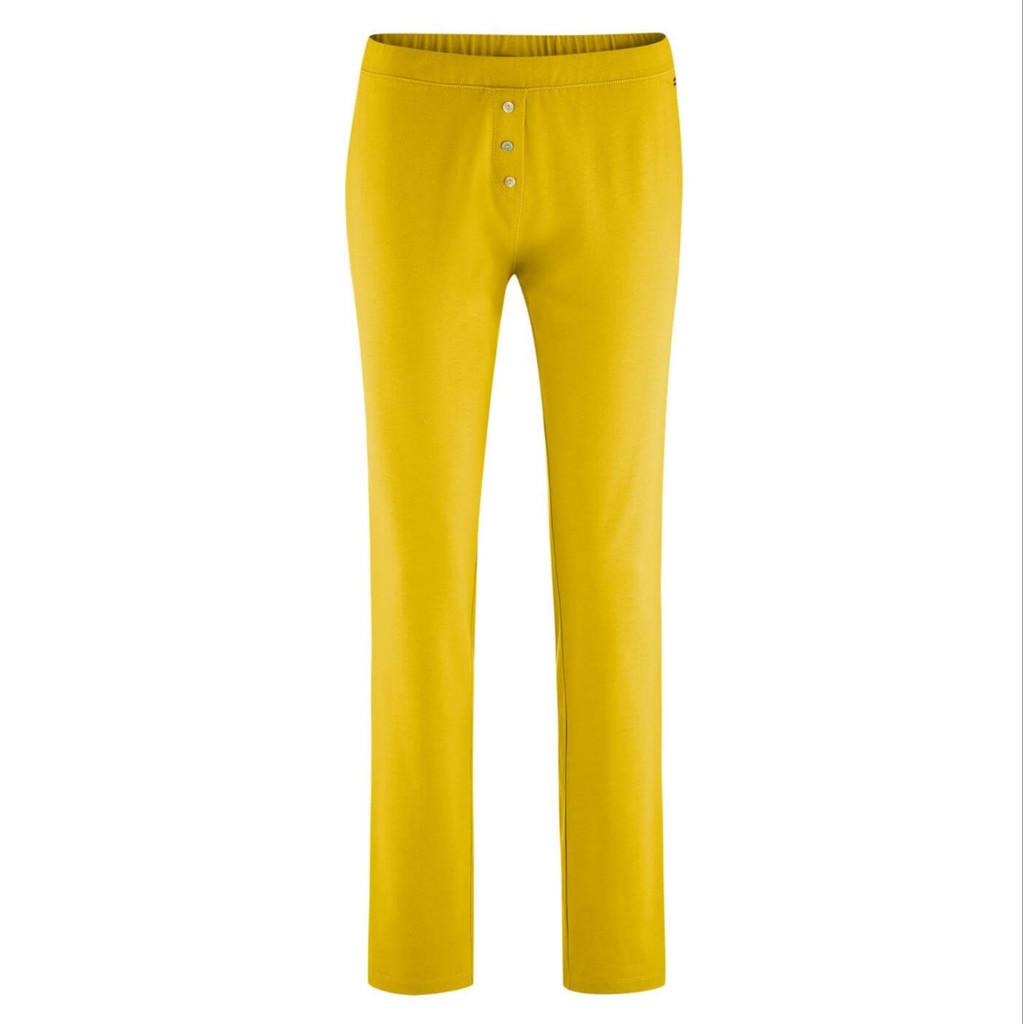 Organic Cotton Sleep Trousers Color:  790 brass