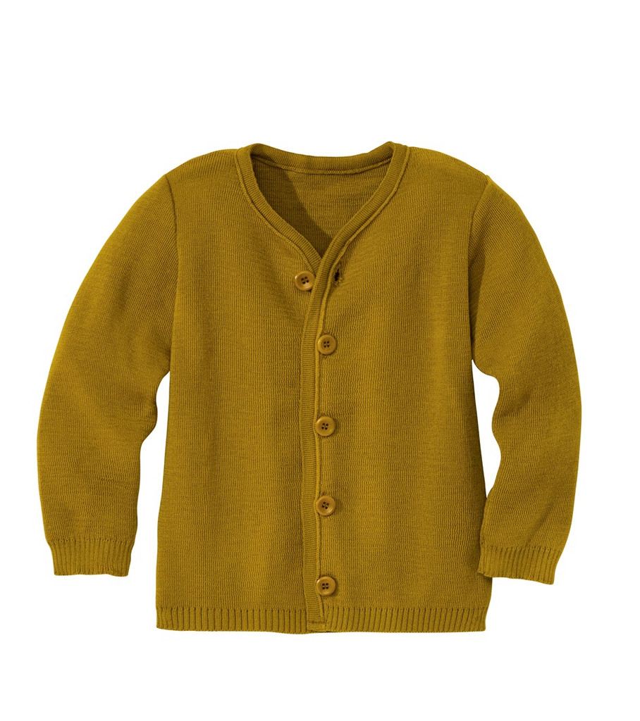 Disana Organic Wool Lightweight Jacket Color: Gold