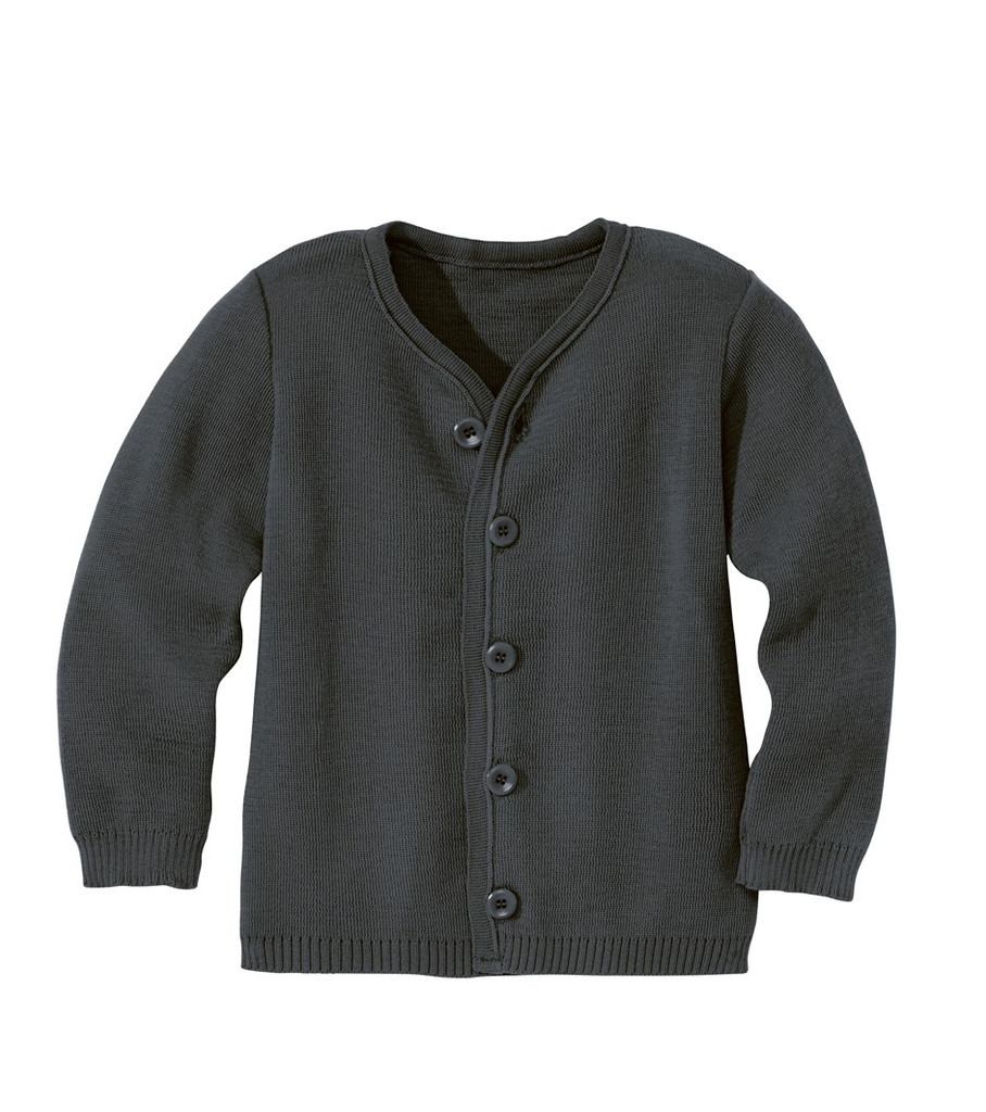 Disana Organic Wool Lightweight Jacket Color: Anthracite