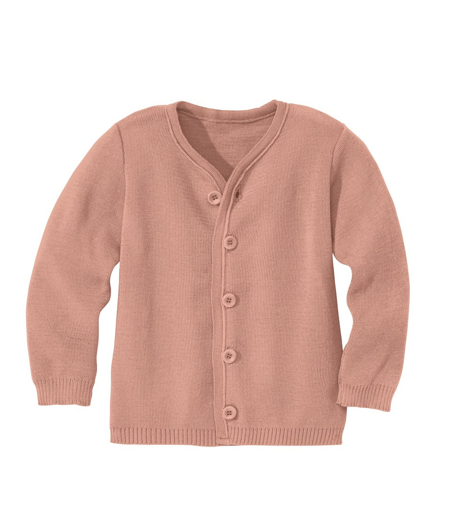 Disana Organic Wool Lightweight Jacket Color: Rose