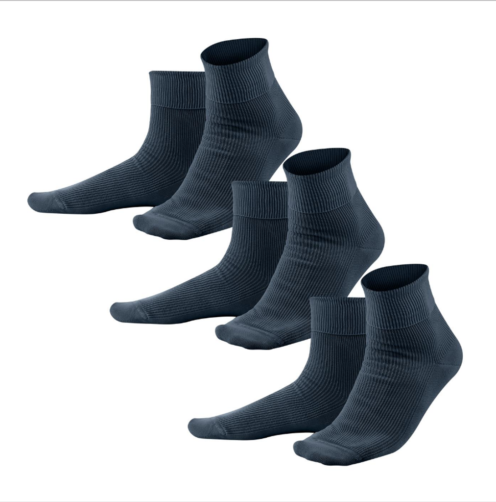 Organic Cotton Socks ( 3 pack )| Living Crafts 234
