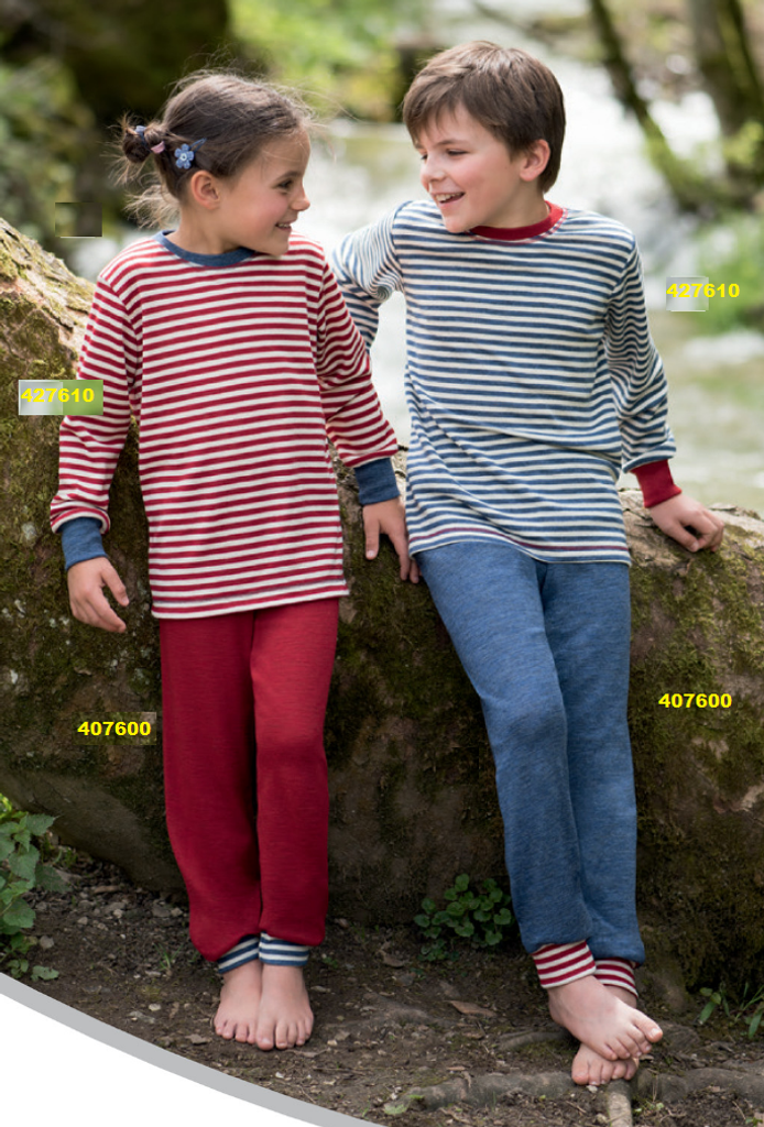 Organic Wool Children Shirt-Sweater  | Engel 427610