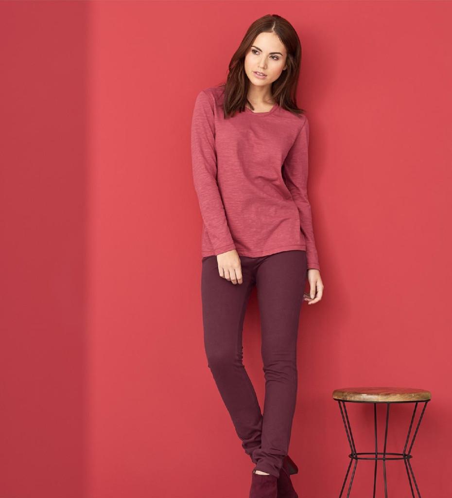 Treggings Organic Cotton Color: 569 barolo