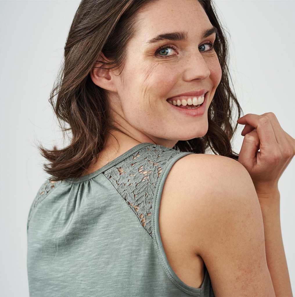 Women Nightgown   organic cotton